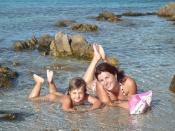 Sestry: fotoz dovolené na Sardínii, kde cestovní kancelář CAPRO pořádala zájezd s Michalem Šubrem a Míšou Poláškovou