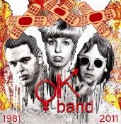 OK BAND 30: Poprvé se na jediném disku setkají alternativní počátky (Žižkovská zeď, Božský klid atd.) s technopopovými kusy jako jsou UFO nad rybníkem nebo Pár slov a dost nebo s velkým comebackem v  písni Snad za to může láska z doby před deseti lety.