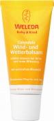 Měsíčkový ochranný balzám Weleda – krém na ochranu pokožky před chladem a sychravým počasím. K dostání v lékárnách, v drogeriích dm, v Klubových prodejnách Weleda.