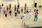Petra Fuxová připravila náročnou choreografii aerobiku pro finalistky