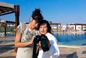 Jak fotila Dana Morávková v Egyptě pro značku značku Pevonia Botanica