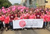 Avon Pochod proti rakovině 2012 prsu trhal rekordy