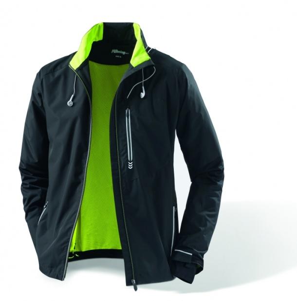 Pánská větruvzdorná běžecká bunda TCHIBO