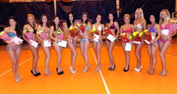 Miss aerobik 2012