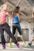 Reebok Dance: Dance Strappy Long Bra Z23277 + Dance Urlead V44389 + Dance Capri Z36245