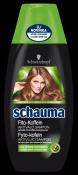 Značka Schauma od Schwarzkopf uvádí na trh řadu vlasové kosmetiky Schauma Fyto-kofein, která stimuluje růstové faktory vlasů a aktivuje vlasové kořínky.