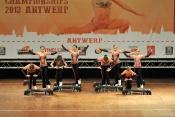 FISAF European Fitness Championships 2013: Závody začaly (2. část)