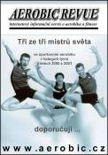 Vzpomínka na rok 2002 a zároveň reklama na www.aerobic.cz...