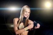 Vítězka Dívky aerobiku 2011 Sabina Bučanová z Tachova