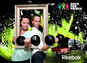 Reebok na Rock for People