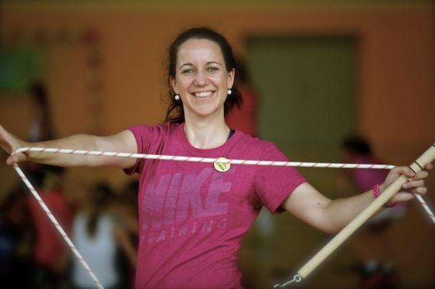 Jana Černá - Beránková a její rope skipping