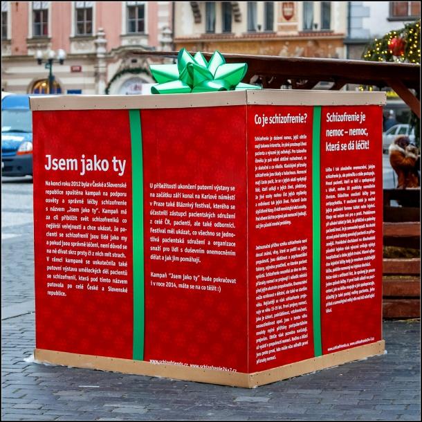 Obří vánoční dárky zaplavily Českou republiku a Slovensko