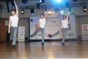 Společné vystoupení mistrů v Top hotelu Praha v rámci vzpomínkové akce