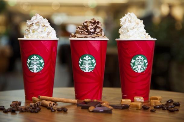 Vánoce 2014 ve Starbucks