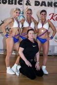 Hostování ve Fitness studio Louny. Pod vedením Jitky Hofmannové jsme získaly v triu zlato na MS 2013 v Belehradu