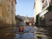 """14. Hanka Dvorská: I v Praze se dá zažít něco """"extra"""" - plavání v čertovce"""