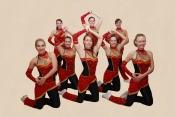 Vánoční poděkování trenérce Lence Procházkové za dvojnásobný hattrick