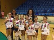 Barbora Svatošová a Helena Niklová: Sport Aerobic Liberec získal na mezinárodním Mistrovství ČR celkem 7 zlatých medailí!