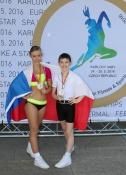 Tereza Fajfrlíková, trenérka a choreografka Aerobik klubu LADY, o ME ve sportovním aerobiku 2016